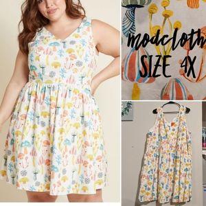 Modcloth mushroom dress